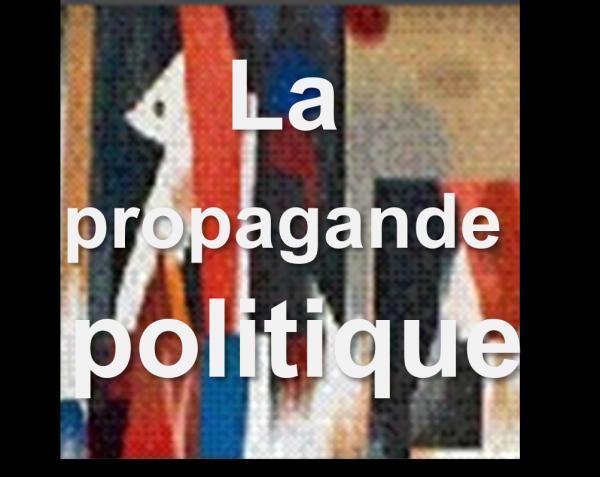 La propagande politique