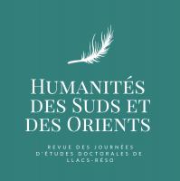 Logo Humanités des Suds et des Orients, revue des Journées d'Etudes Doctorales LLACS-ReSO